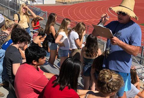 Campus Convenes in Stadium during Evacuation Drill