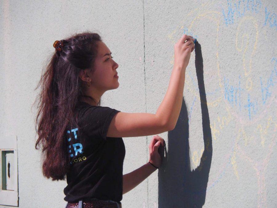 Volunteer Muralist Inspires Kindness