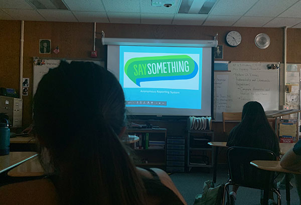 Say Something App Introduced during Academy