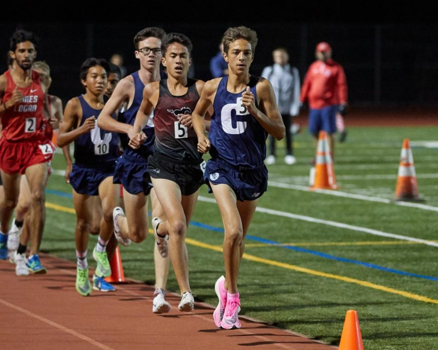Cross Country Squad Hosts Track Invitational
