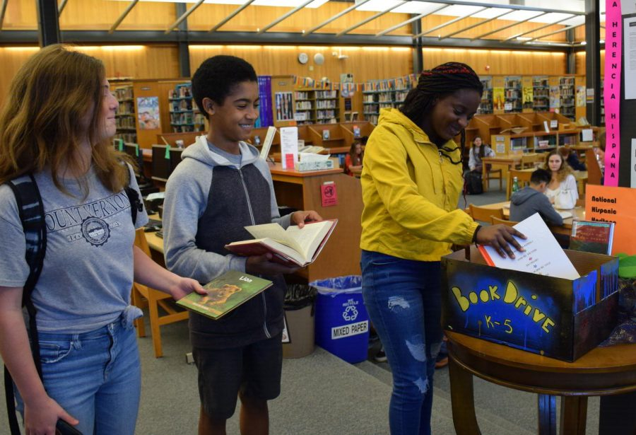 Club Helps Elementary Build Library