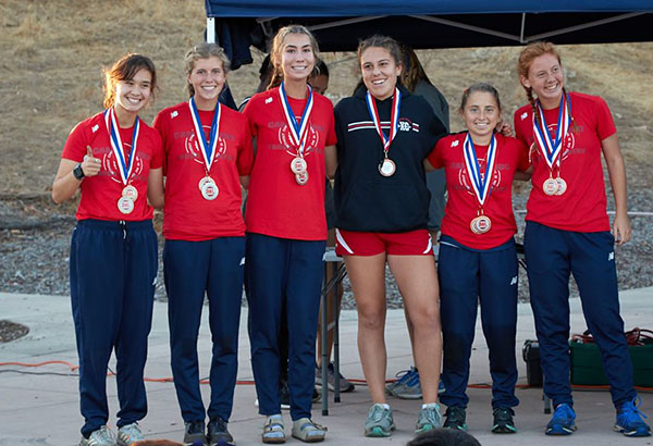 Cross Country Sweeps League Titles