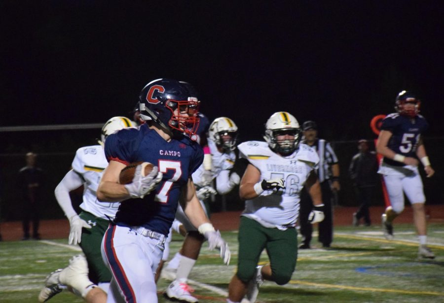 Football Rallies for Playoff Win after Flu Outbreak