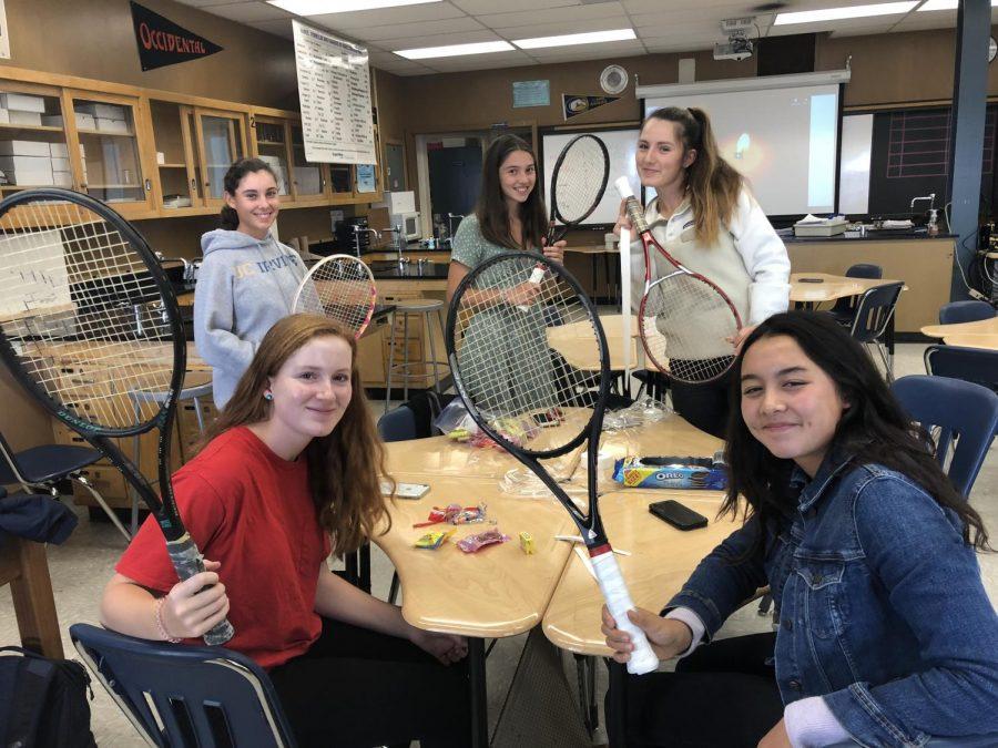 Racket Donation Teaches Life Skills