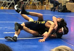 Star Wrestlers Rest while Teammates Attend Tourney