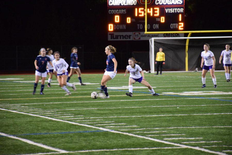 Physical Falcons Beat Girls' Soccer