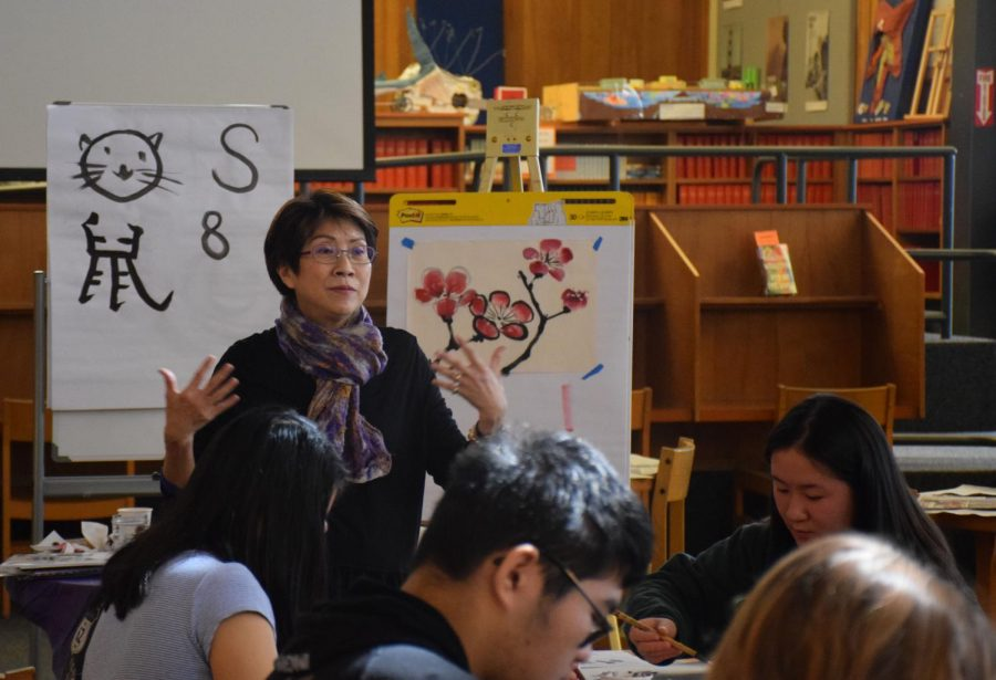 Chinese Brush Painting Calms, Enriches