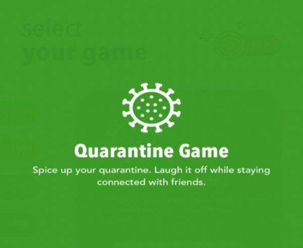 Screenshot from the party game