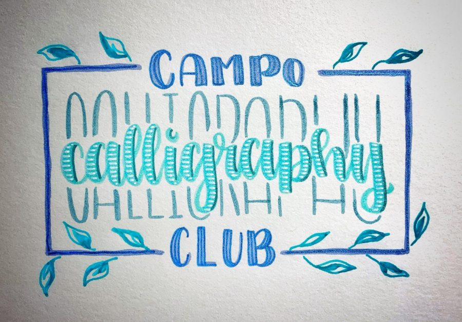 Calligraphy Club Joins Youth Arts Movement