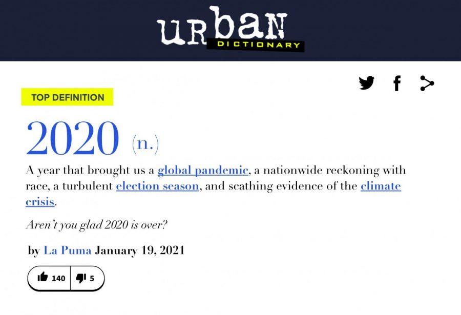La Puma's 2020 Dictionary: Words of an Unprecedented Year