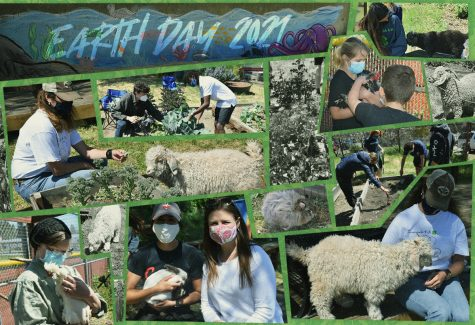 Campus Garden Events Commemorate Earth Day