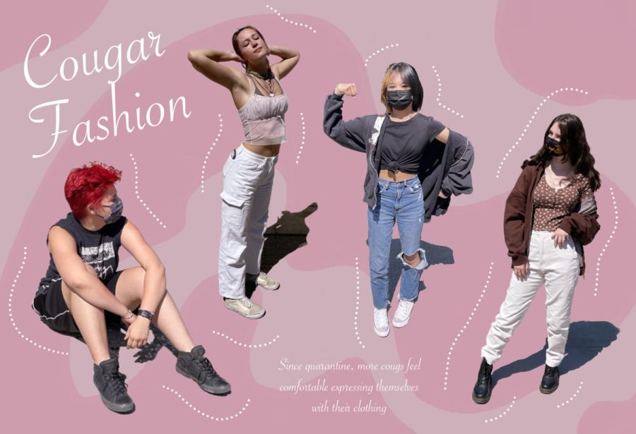 Senior+Aeryn+Armstrong-Azar%2C+junior+Kate+Crosby%2C+freshman+Mio+Eng%2C+and+senior+Zara+Quam+all+express+themselves+through+their+fashion.